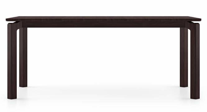 Catria XL 6 Seater Dining Table (Mahogany Finish) by Urban Ladder