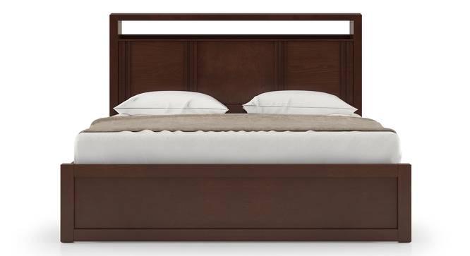 Dixon Bed (Queen Bed Size, Dark Walnut Finish) by Urban Ladder