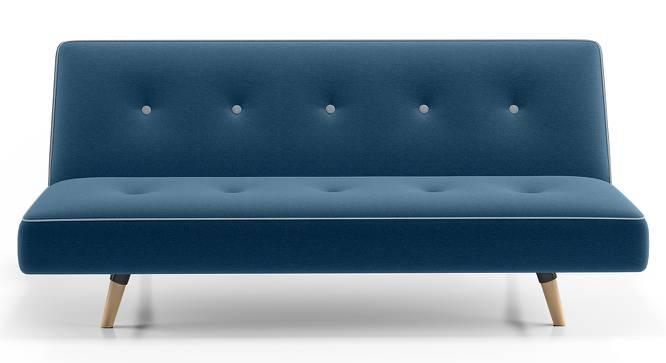 Zehnloch Sofa Cum Bed (Blue) by Urban Ladder