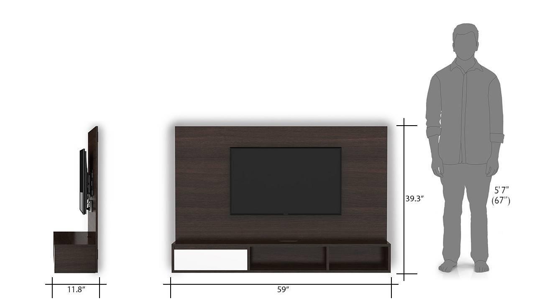 Iwaki floor tv unit wall mount 22