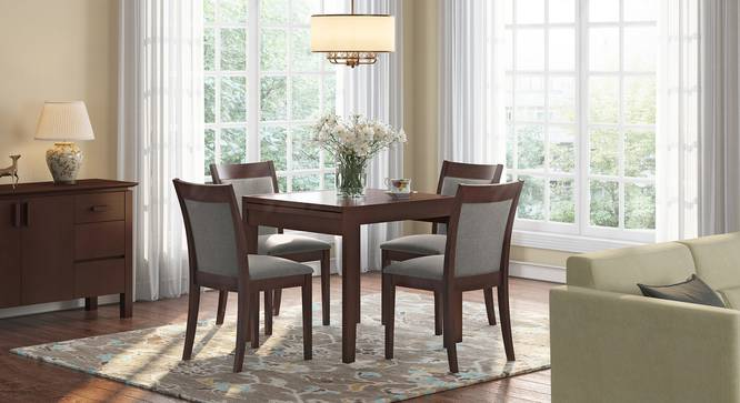 Murphy 4 To 6 Extendable Dalla 4 Seater Dining Table Set