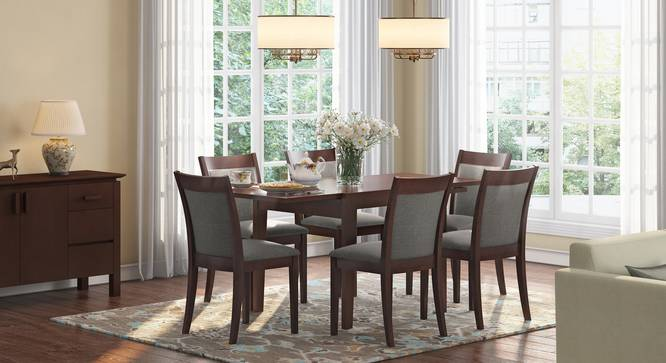 Murphy 4 To 6 Extendable Dalla 6 Seater Dining Table Set