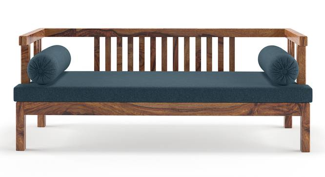 Milton Day Bed (Teak Finish, Blue) by Urban Ladder