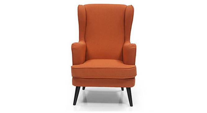Genoa Wing Chair (Amber) by Urban Ladder - Front View Design 1 - 282938