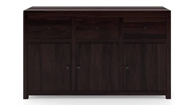 "Striado 57"" Wide Sideboard (Mahogany Finish) by Urban Ladder"