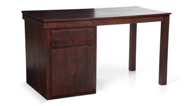 Bradbury Desk (Mahogany Finish, Large Size) by Urban Ladder - Cross View - 283148