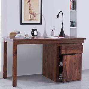 Bradbury Desk (Teak Finish, Large Size) by Urban Ladder - Design 1 - 283156