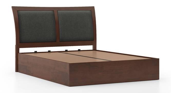 Packard Hydraulic Bed (King Bed Size, Dark Walnut Finish) by Urban Ladder