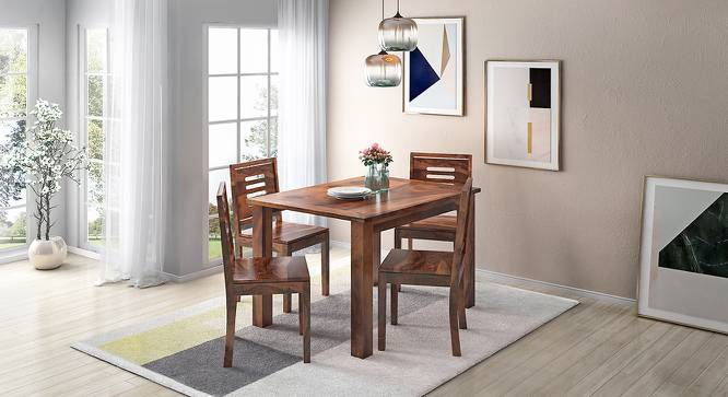Capra Dining Chairs - Set of Two (Teak Finish) by Urban Ladder - Design 1 Full View - 283212