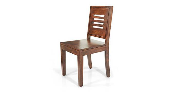 Capra Dining Chairs - Set of Two (Teak Finish) by Urban Ladder