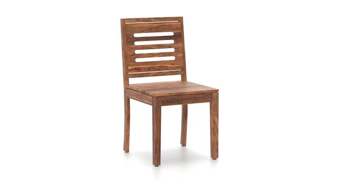 Capra Dining Chairs - Set of Two (Teak Finish) by Urban Ladder - Cross View Design 1 - 283213