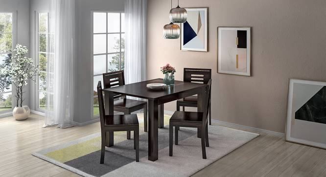 Capra Dining Chairs - Set of Two (Mahogany Finish) by Urban Ladder - Full View Design 1 - 283219