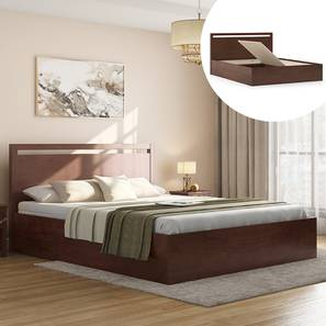 Andros box storage bed dw king lp
