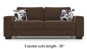 Leslie Sofa (Chestnut Brown)