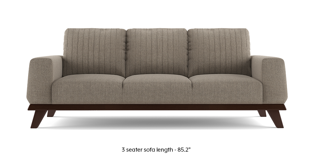 Granada Sofa (Hazel Wood Brown) by Urban Ladder