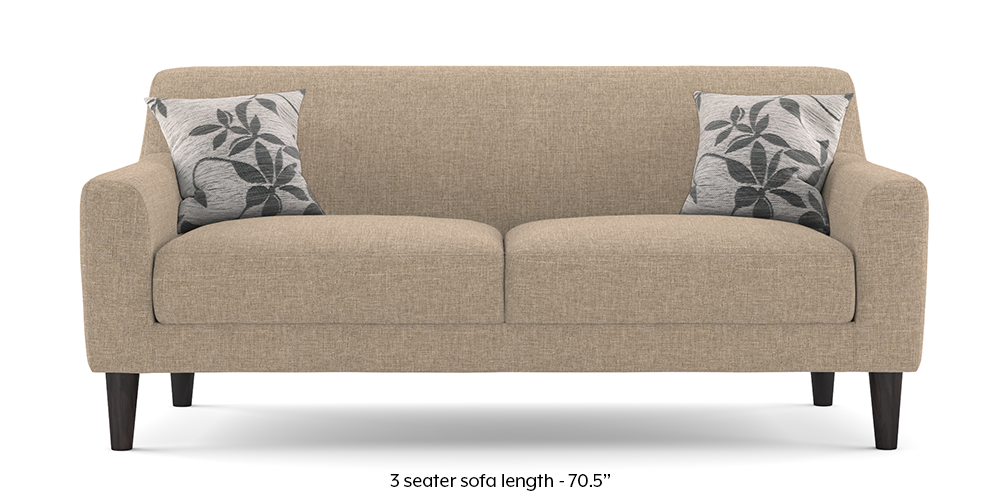 Newport sofa (Sandstone Beige) by Urban Ladder