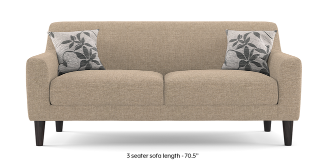 Newport Sofa (Sandstone Beige) (2-seater Custom Set - Sofas, None Standard Set - Sofas, Fabric Sofa Material, Regular Sofa Size, Regular Sofa Type, Sandstone Beige)
