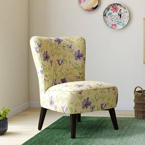 Greta Lounge Chair (Purple Clematis) by Urban Ladder