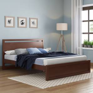 Andros bed with miyako footboard king lp