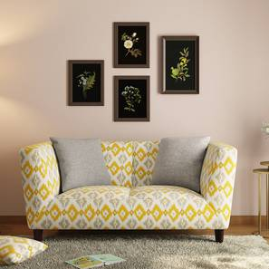Janet Loveseat (Sigmund Yellow) by Urban Ladder