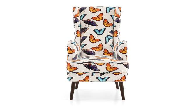 Genoa Wing Chair (Flutter Butterfly) by Urban Ladder - Front View Design 1 - 284353