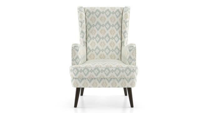 Genoa Wing Chair (Shoreline Ikat) by Urban Ladder