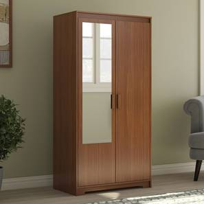 Hilton 2 door wardrobe cherry walnut lp