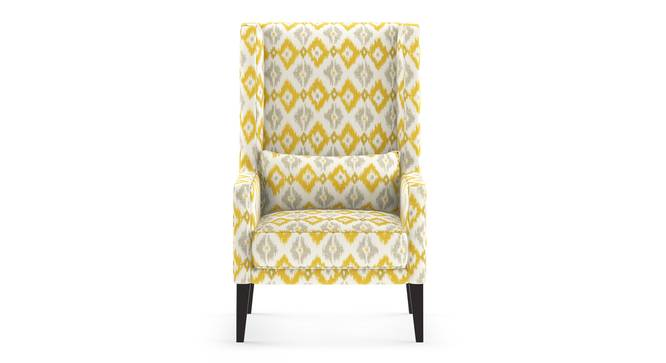 Morgen Wing Chair (Sigmund Yellow) by Urban Ladder