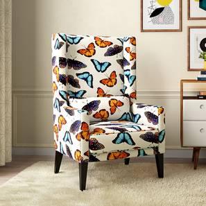 Morgen Wing Chair (Flutter Butterfly) by Urban Ladder