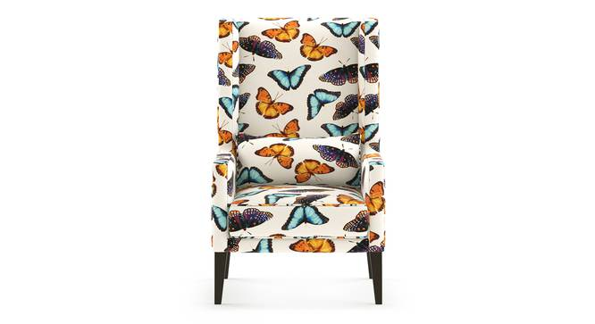 Morgen Wing Chair (Flutter Butterfly) by Urban Ladder
