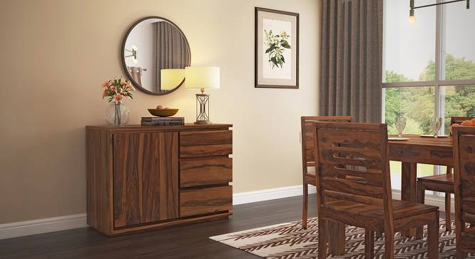 Vector Wide Sideboard (Teak Finish) by Urban Ladder - Full View Design 1 - 284808