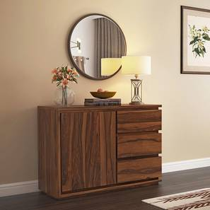 Vector Wide Sideboard (Teak Finish) by Urban Ladder - - 46153