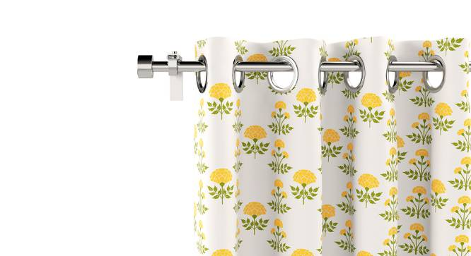 "Marigold Door Curtains - Set Of 2 (54""x84"" Curtain Size, Buti Pattern) by Urban Ladder"