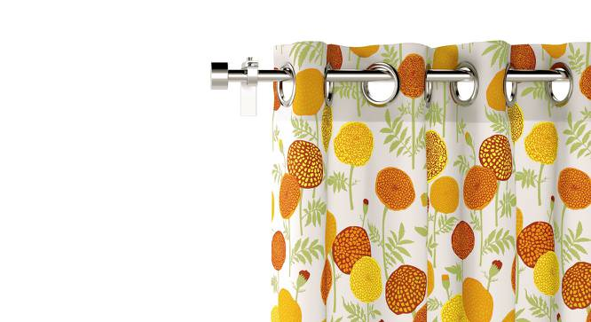 "Marigold Door Curtains - Set Of 2 (54"" x 108"" Curtain Size, Torana Pattern) by Urban Ladder"
