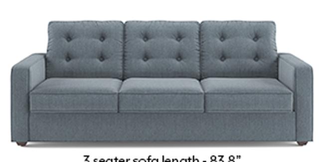 Apollo Sofa Set (Fabric Sofa Material, Regular Sofa Size, Soft Cushion Type, Regular Sofa Type, Master Sofa Component, Tufted Back Type, Regular Back Height, Chambray Blue)