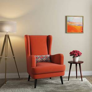 Genoa Wing Chair (Amber) by Urban Ladder - Design 1 Full View - 282937