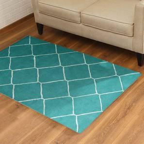 Virginia hand tufted carpet white lp