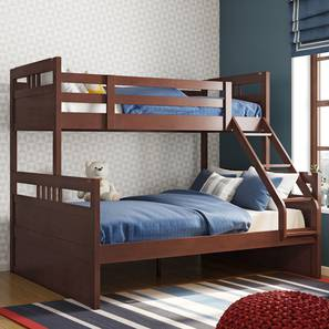 Dublin Bunk Bed (Dark Walnut Finish) by Urban Ladder