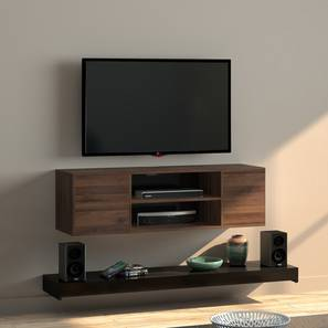 Astrid TV Unit (Black) by Urban Ladder