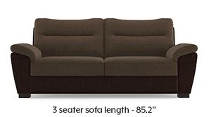 Adelaide Sofa (Dark Earth & Dachshund Brown)