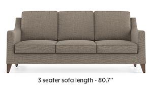 Abbey Sofa (Hazel Wood Brown)