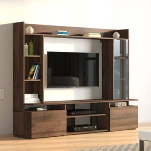 Celestin TV Unit (Columbian Walnut Finish) by Urban Ladder