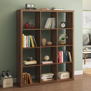 Boeberg book shelf 4x3  columbian walnut lp