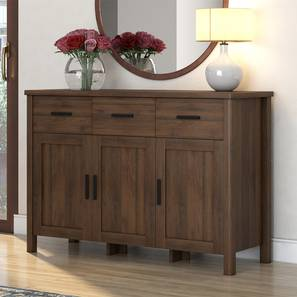 Norland Wide Sideboard (Standard Size, Columbian Walnut Finish) by Urban Ladder - Design 1 Full View - 291876