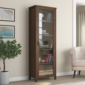 Norland Bookshelf (50-book capacity) (Columbian Walnut Finish) by Urban Ladder