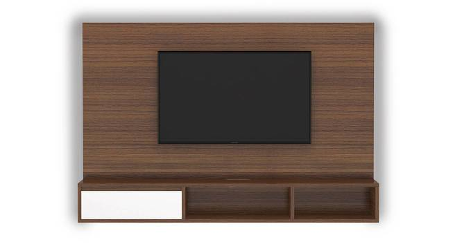Iwaki Swivel TV Unit (Walnut Finish, Wall Mounted Unit) by Urban Ladder