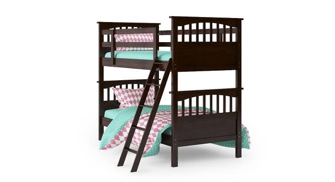 Barnley Bunk Bed (Dark Walnut Finish, Without Storage) by Urban Ladder