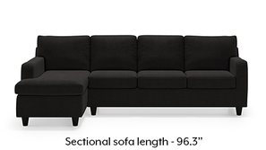 Walton Sectional Sofa (Asphalt Grey)