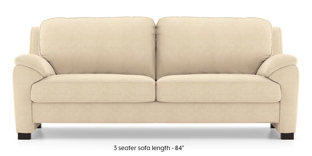 Farina Sofa (Birch Beige) (3-seater Custom Set - Sofas, None Standard Set - Sofas, Fabric Sofa Material, Regular Sofa Size, Regular Sofa Type, Birch Beige) by Urban Ladder - - 292356