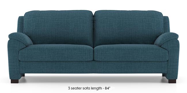 Farina Sofa (Colonial Blue) (3-seater Custom Set - Sofas, None Standard Set - Sofas, Fabric Sofa Material, Regular Sofa Size, Regular Sofa Type, Colonial Blue)